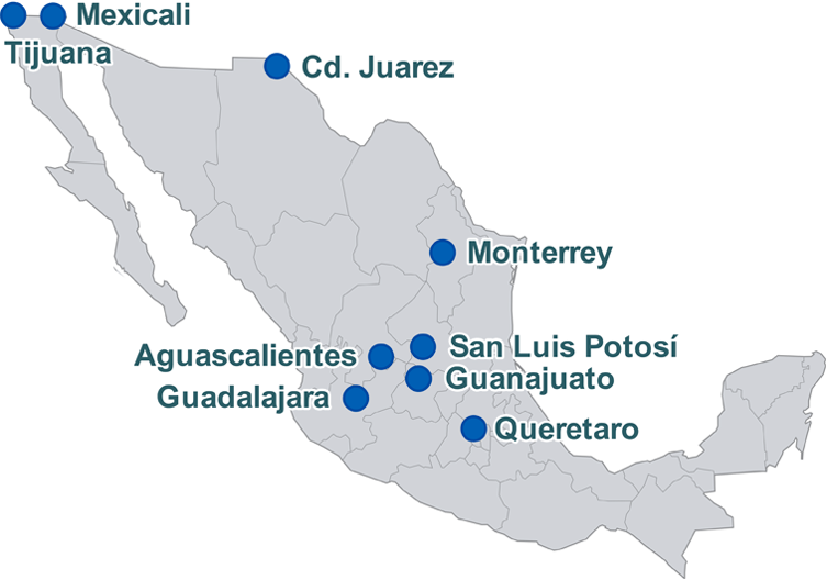 Maquila Reference Manufacturing in Mexico