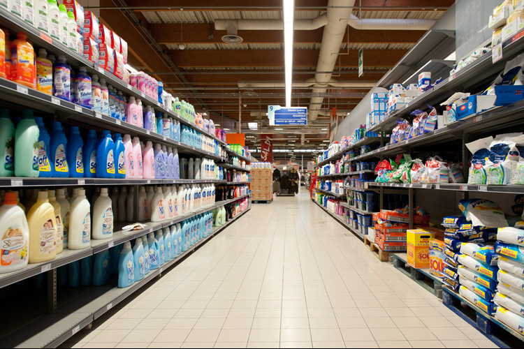 supermarket consumer italy labels friendly manufacturing bologna salon coop environmentally suggest italian mexico february aren 1330 display aisle shutterstock rh